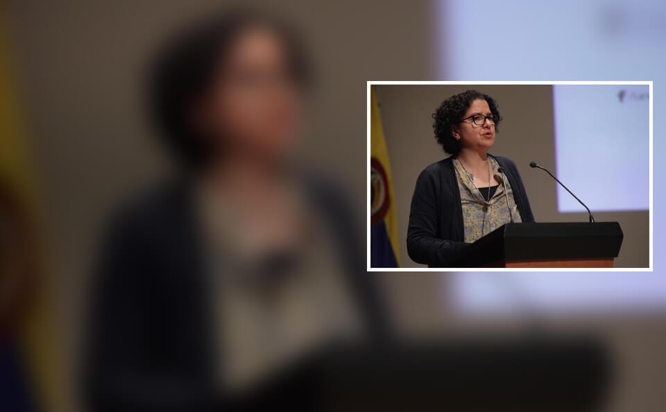 Silvia Restrepo Restrepo, vicerrectora investigaciones