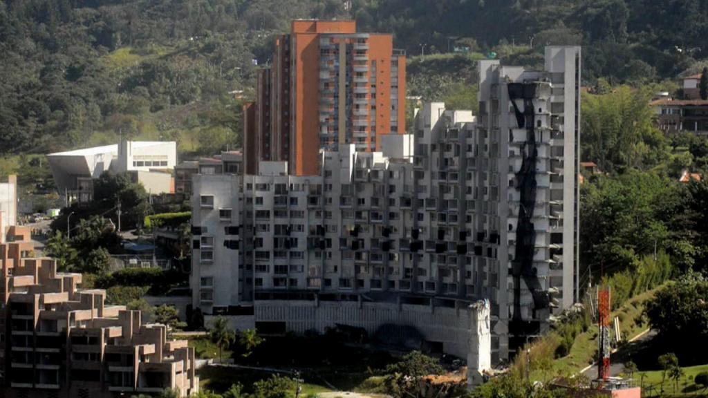 Edificio Space de la ciudad de Medellín