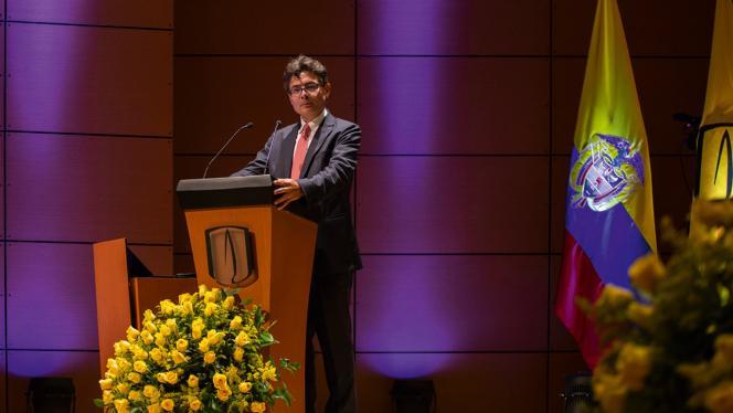 Alejandro Gaviria, rector de Los Andes