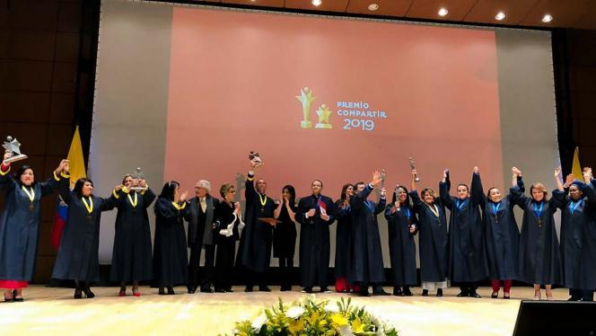 Ceremonia de Premiación de Compartir al Maestro 2019