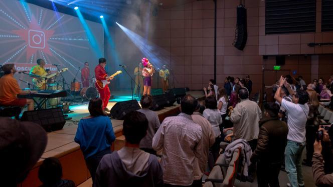 Concierto de cumbia para la Universidad de los Andes