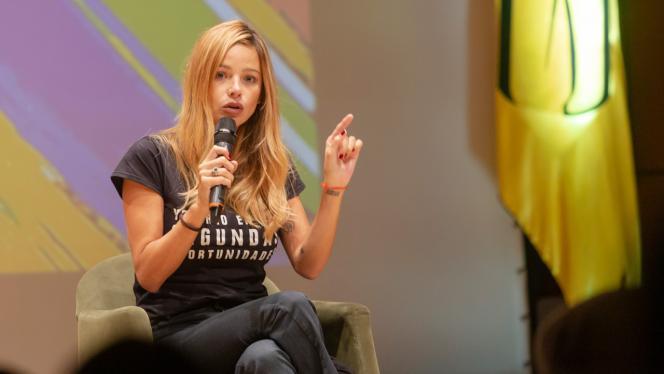 Johanna Bahamón en la charla 'El derecho a una segunda oportunidad'