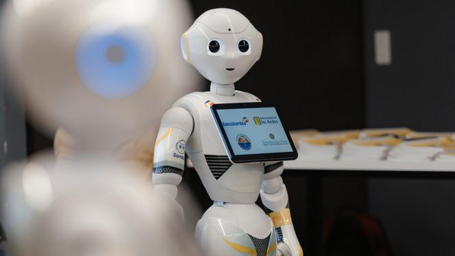 Robot comercial
