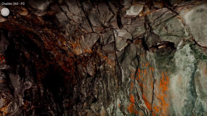 Imagen exposición Volcán Chaitén