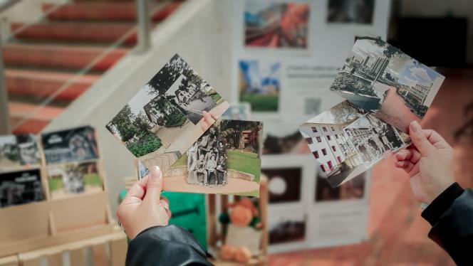 Imagen con fotografías de la Universidad de los Andes en el tiempo