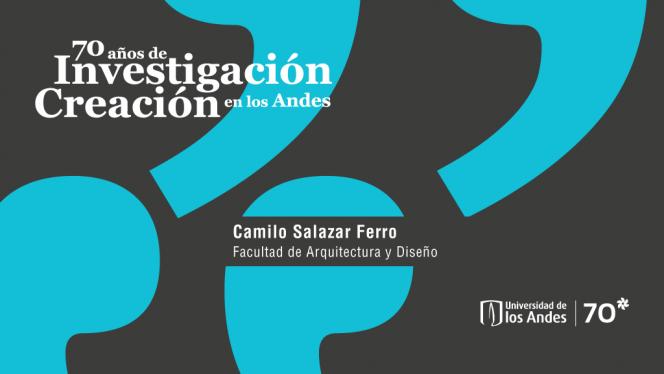 Banner 70 años de investigación creación en los Andes