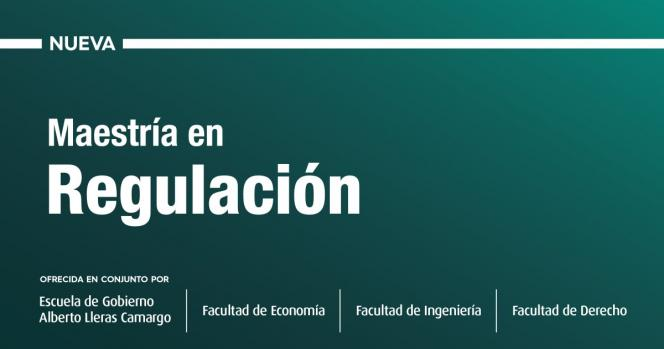 Banner de la nueva maestría en regulación