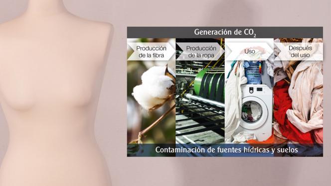 Infografía sobre contaminación de fuentes hídricas y suelos