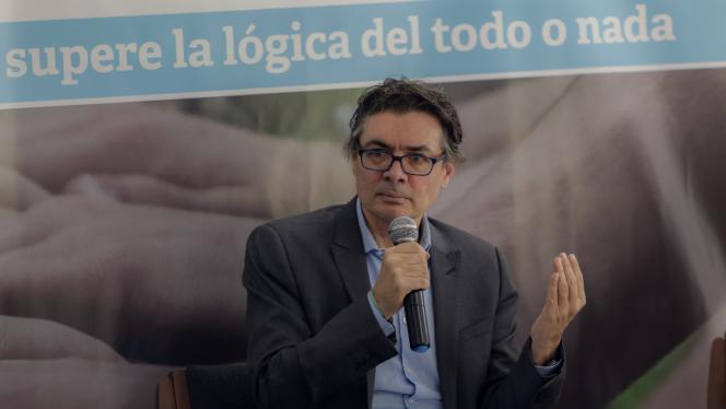 Alejandro Gaviria, Rector Uniandes en conferencia