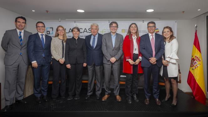 Invitados al lanzamiento del proyecto Palancas Colombia