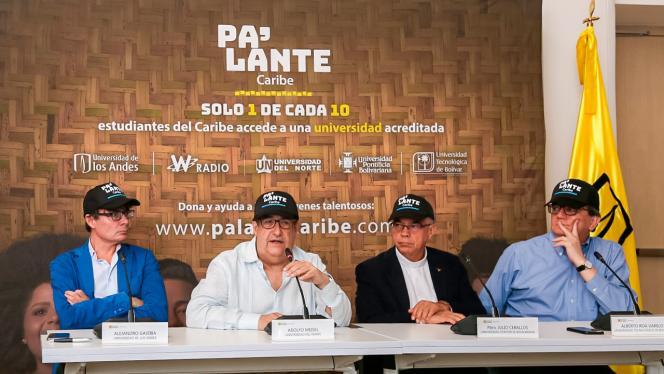 Debate con los miembros de la alianza Pa'lante Caribe