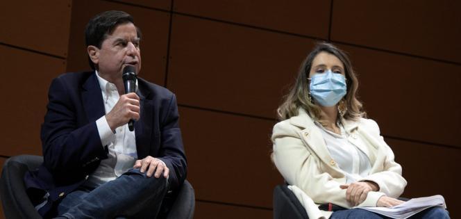Juan Fernando Cristo y Paloma Valencia