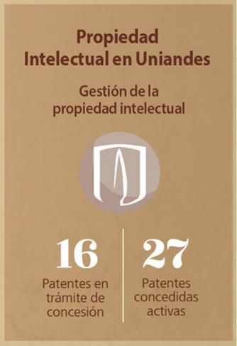 Infografía propiedad intelectual Uniandes
