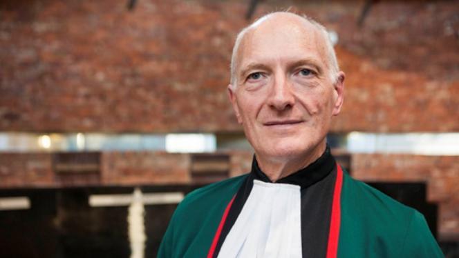 Fotografía del juez Edwin Cameron