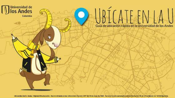 Invitación a la guía de Ubícate en la U