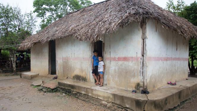 Vivienda de población de bajos recursos