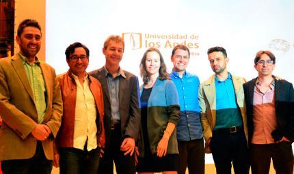 Conferencistas internacionales y organizadores del Congreso