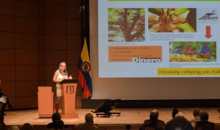 Brigitte Baptiste, directora general del Instituto Alexander von Humbolt, presentó sus estudios en Los Andes.