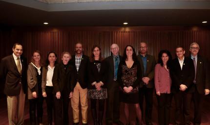 Delegados de la Universidad de los Andes y de la Universidad de Pittsburgh en el evento