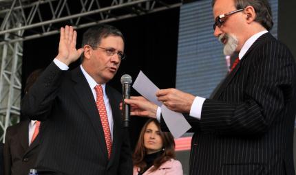 juramento, rector Uniandes, Consejo Superior Uniandes, Pablo Navas