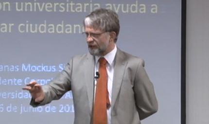 Antanas Mockus matematico filosofo exalcalde bogota