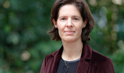 Arquitecta Claudia Mejía Ortiz, directora del Departamento de Arquitectura de Los Andes