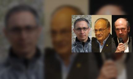 Daniel Bonilla, Carlos Campuzano y Camilo Santamaria, arquitectos premio cemex