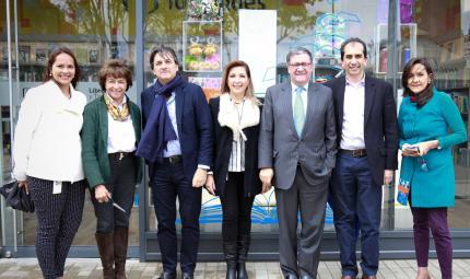 Foto oficial: Inauguración Librería y Tienda Uniandes