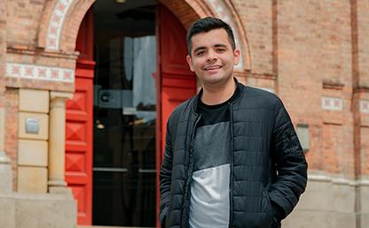 Diego Alejandro Parra, graduando summa cum laude de Economía 2019-1.