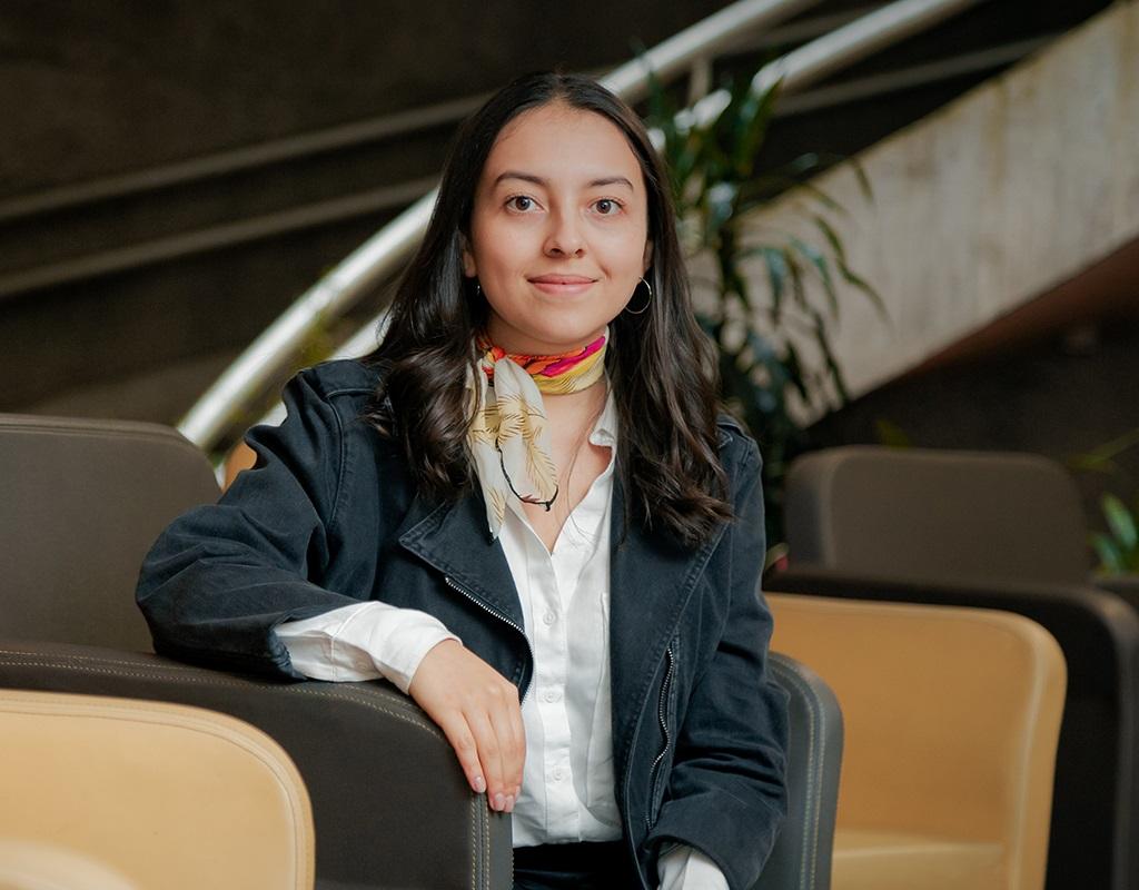 María Gabriela Vargas, graduanda summa cum laude de Ciencia Política 2019-1.