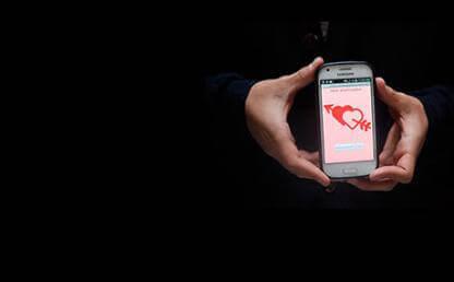 Celular inteligente con App