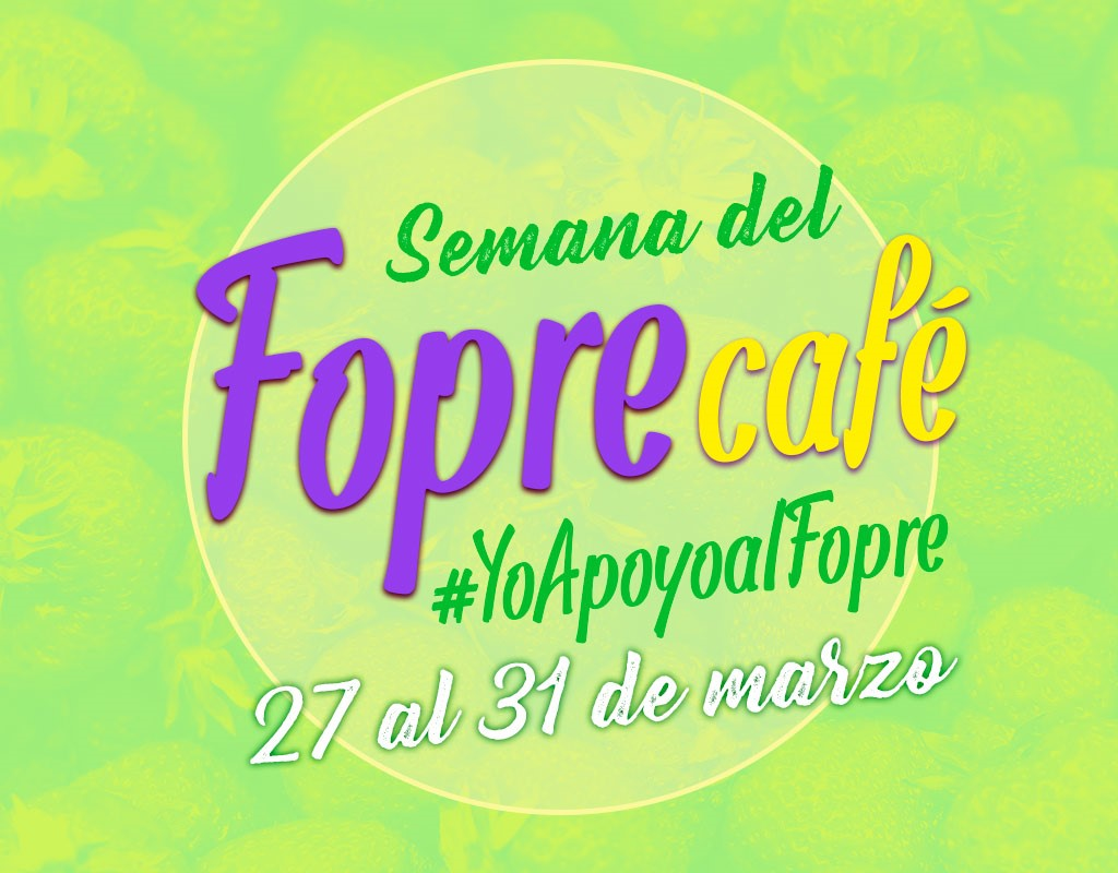 Fopre café - 27 al 31 de marzo