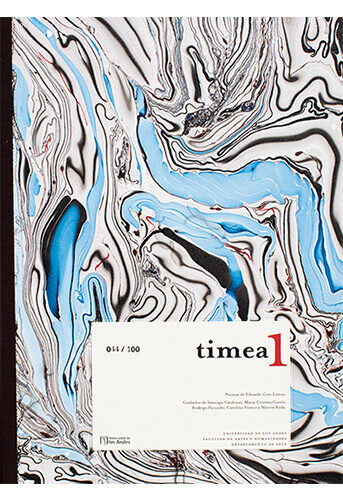 Esta carpeta de grabados inaugura los resultados del primer proyecto de TIMEA, el taller de grabado dirigido por Carolina Franco y Marcos Roda en el Departamento de Arte de la Facultad de Artes y Humanidades de la Universidad de los Andes desde el 2017.