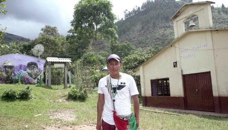 Joven en zona rural