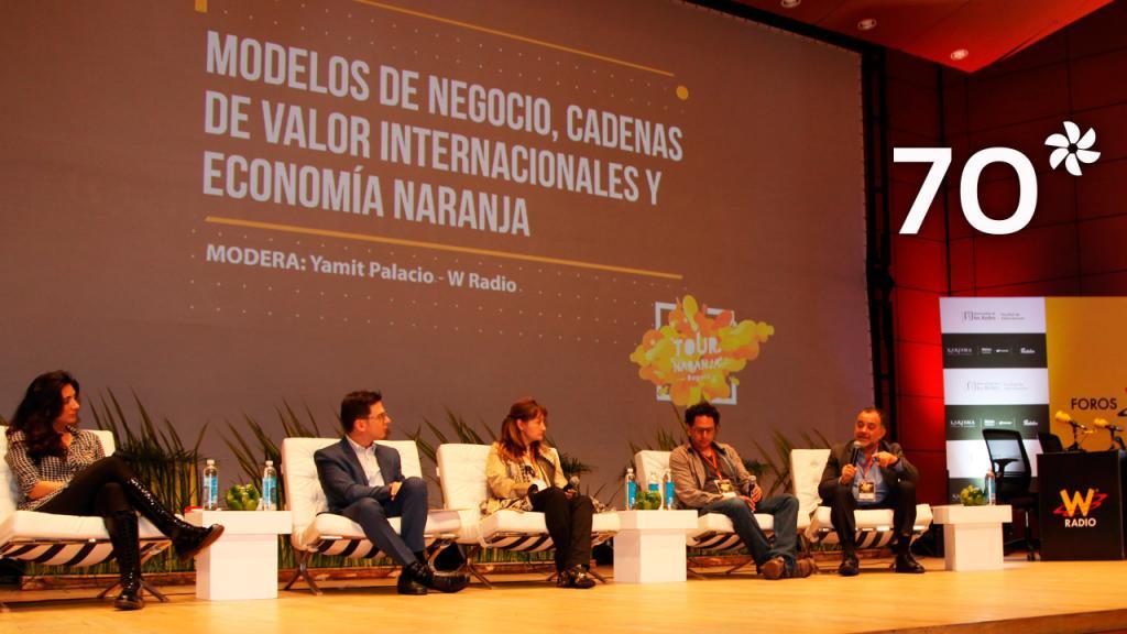 La Universidad de los Andes y W Radio realizan el primer foro-conversatorio sobre todo lo que gira alrededor de la Economía Naranja