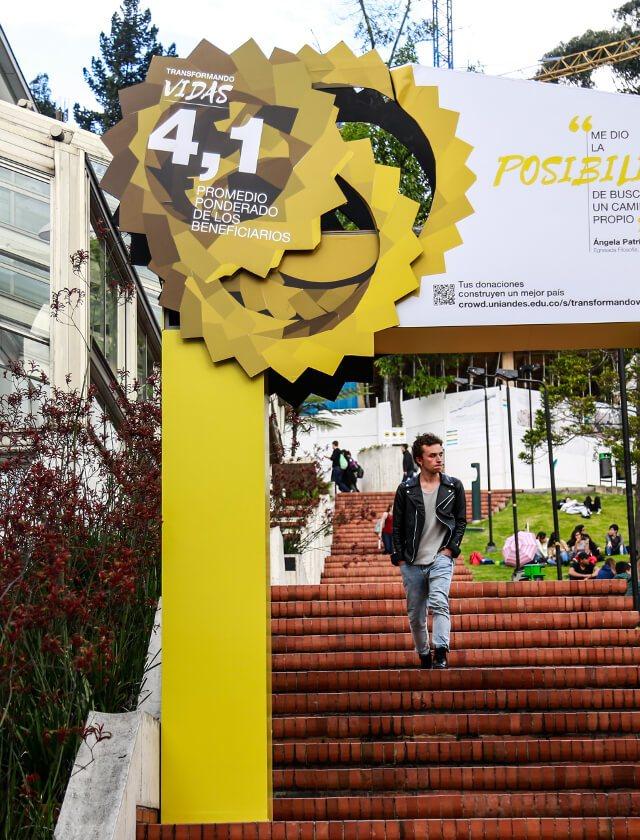 Campaña #TransformandoVidas de Quiero Estudiar junto al Prado de San Alberto Magno