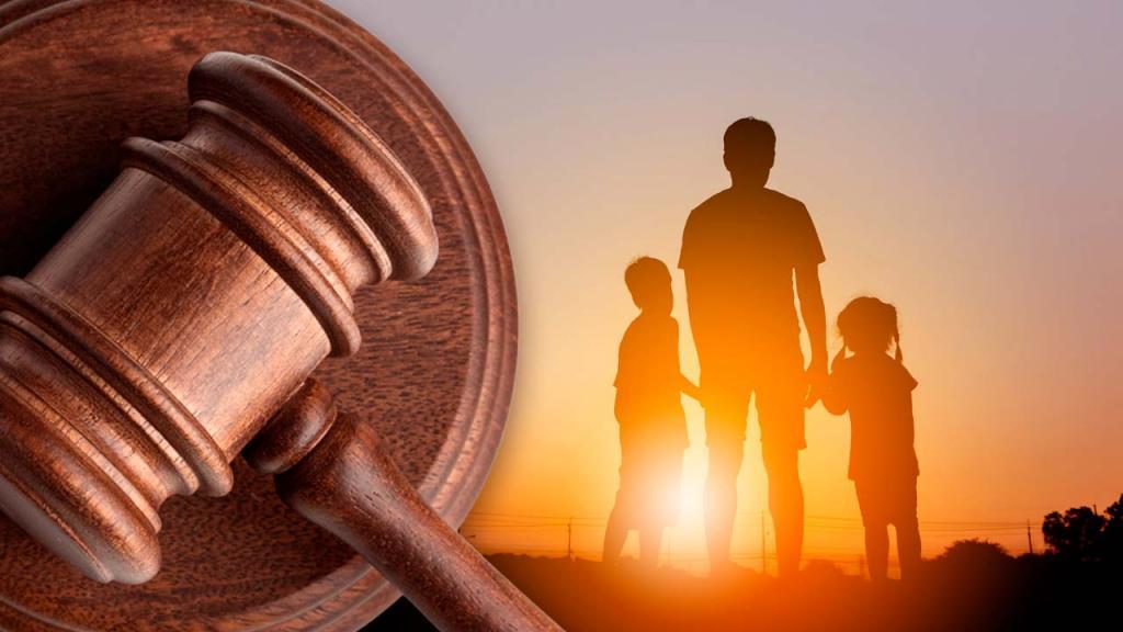 Composición gráfica sobre derechos de la niñez