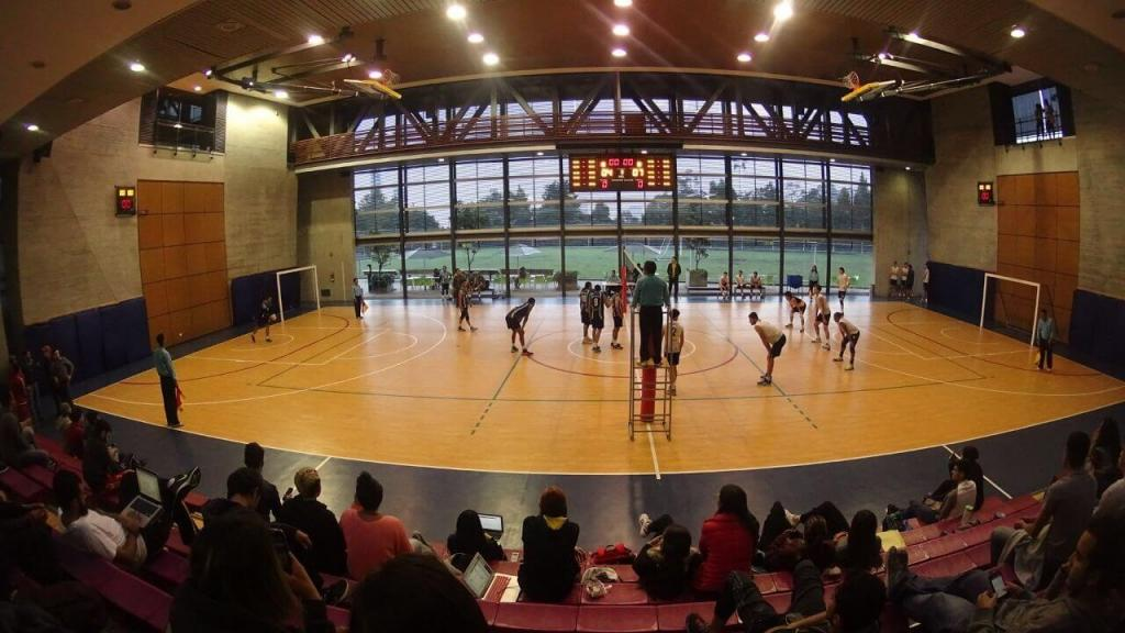 Imagen de la final jugada en el coliseo del Centro Deportivo de la Universidad de los Andes entre Uniandes y Uniminuto