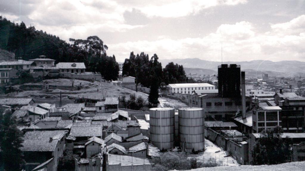 Terrenos antiguos donde se ubica el Campus de la Universidad de los Andes