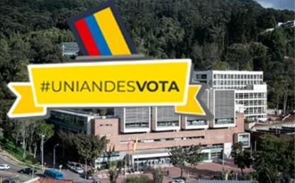 Imagen panorámica de la Universidad  de los Andes