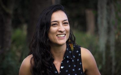 Estefanía Ciro, la uniandina ganadora del Premio UNESCO Juan Bosch 2018