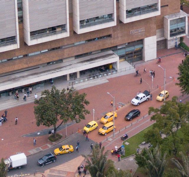 Foto de dron del ML