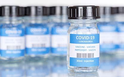 Foto de unas vacunas contra COVID-19