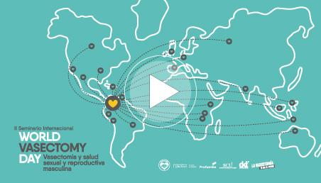 Graficación II Seminario internacional WVD en vasectomía y en salud sexual y reproductiva masculina.