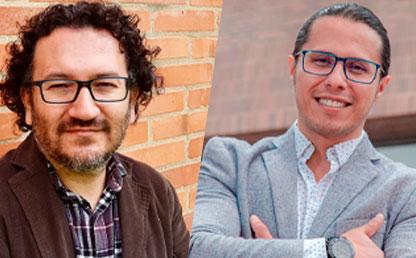 Foto de César Galindo (i) y Juan Pablo Siza.