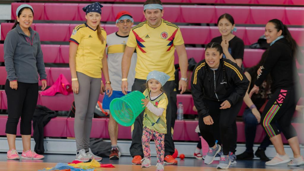 Vive el deporte Uniandes