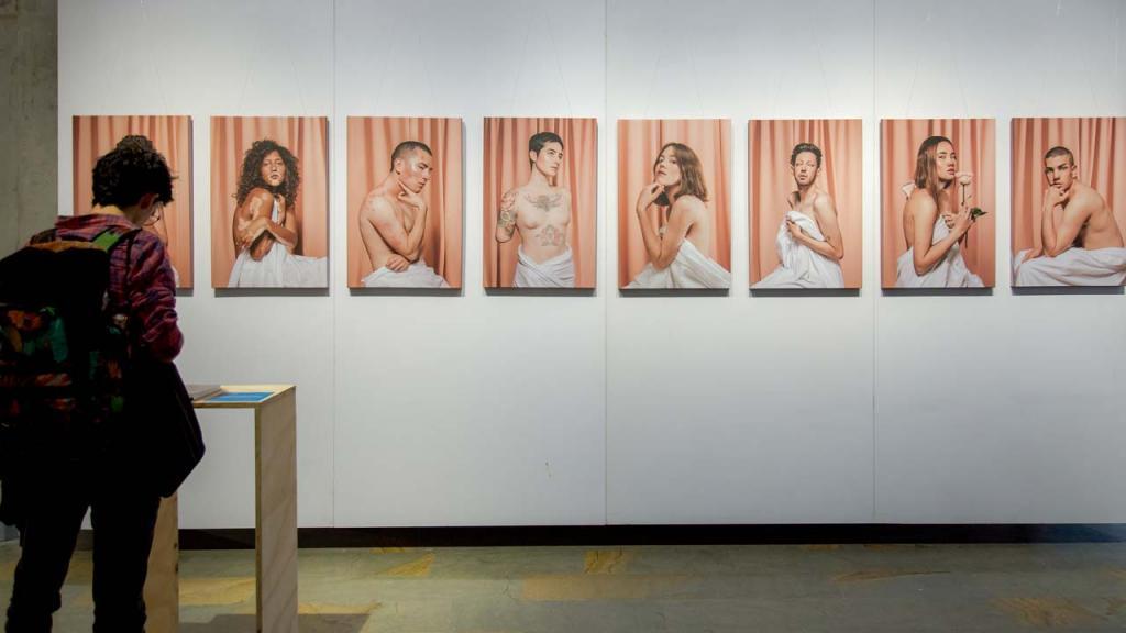Muestra Artistica en Exposición Volarán