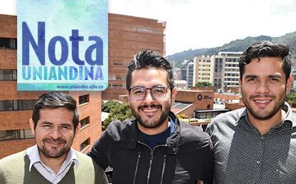 Gonzalo Sánchez, Jimmy Daza y Jaime Daza, voluntarios de ERES Colombia.