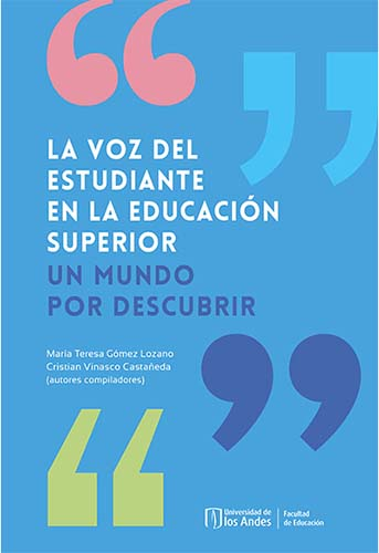 Cubierta del libro La voz del estudiante en la educación superior