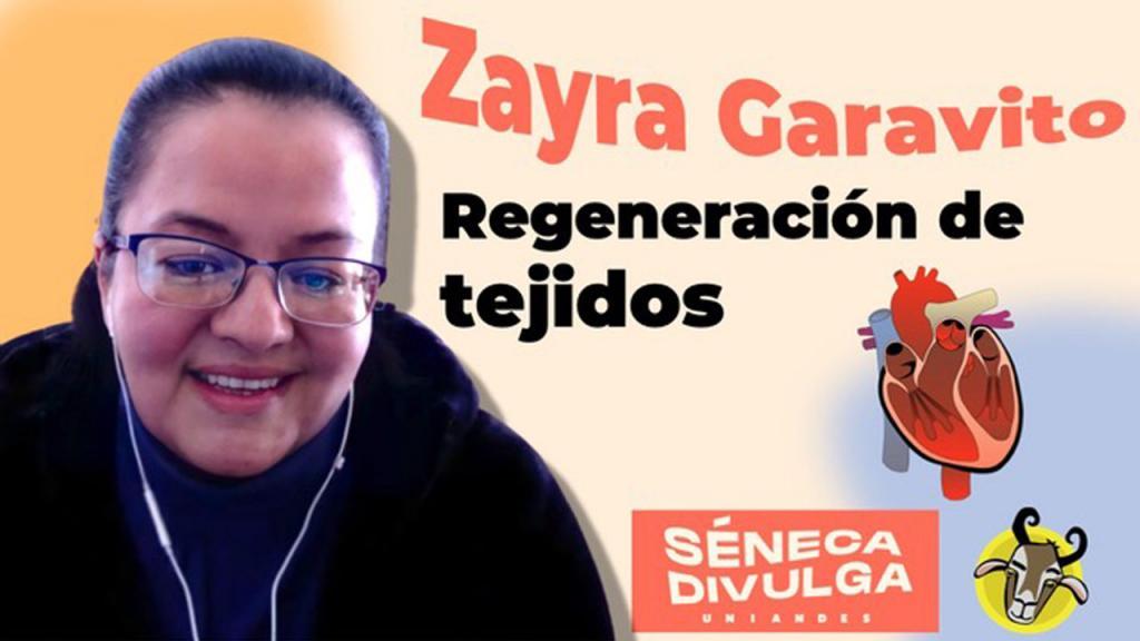 Zayra Garavito en Séneca Divulga